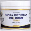 Hand & Body Cream 1500mg Max+ Strength